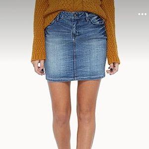 TWIK   denim skirt size 30
